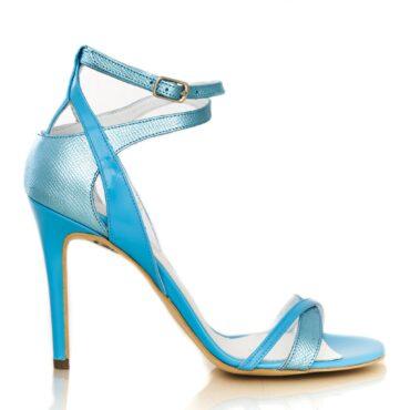 Chloe print blue