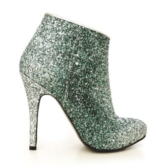 Yvette green glitter