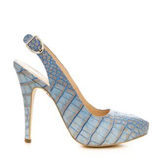 Valerie croco blue