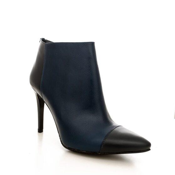 Alylin navy blue leather