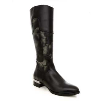 Ophelia black leather