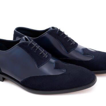 Pantofi oxford 426 bleumarin