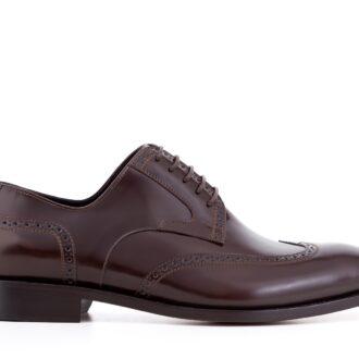 Pantofi derby 422 maro