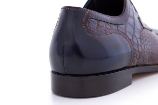 Pantofi derby 2961 bleumarin