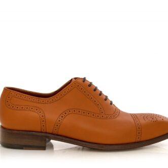 Pantofi oxford 2934 camel