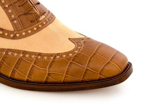 Pantofi oxford 4211 maro