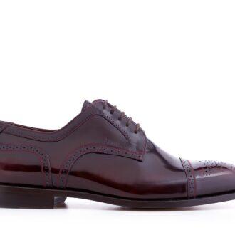Pantofi derby 2962 bordeaux