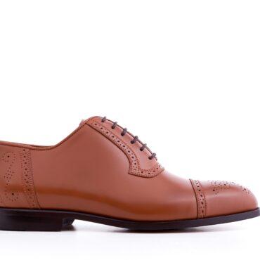 Pantofi oxford 2967 camel
