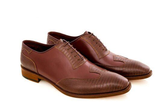 Pantofi oxford 425 maro