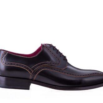 Pantofi derby 2935 maro