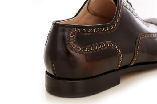 Pantofi oxford 2967 maro
