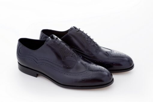 Pantofi oxford 2968 bleumarin