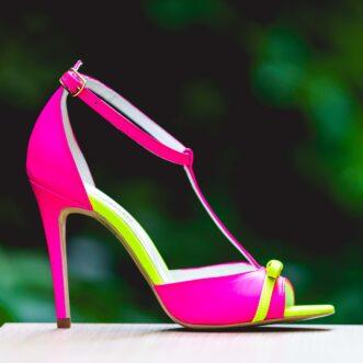 Louise neon fuchsia