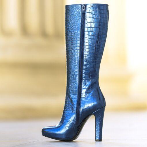 Viona croco blue