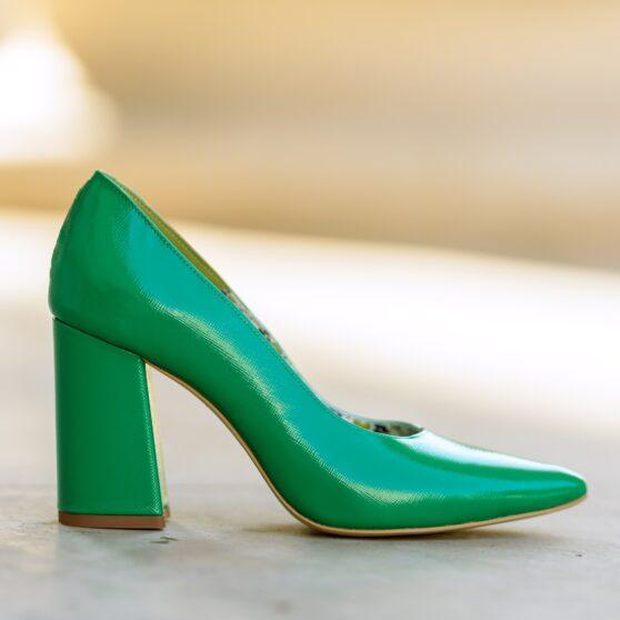 Victoria green safiano