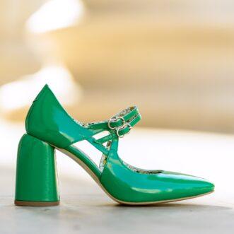 Fantasy safiano verde