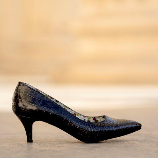 Nicolette croco negru