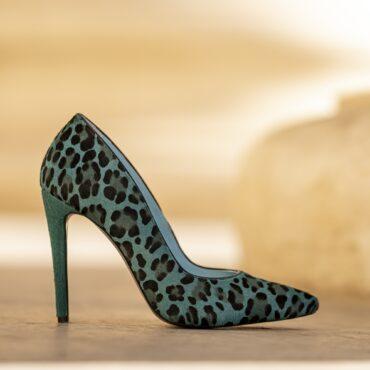 Forever ponei leopard verde