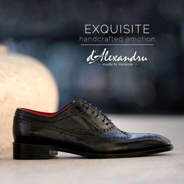 Pantofi oxford 15174 negru