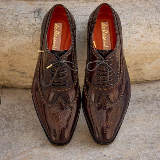 Pantofi oxford 151741 maro