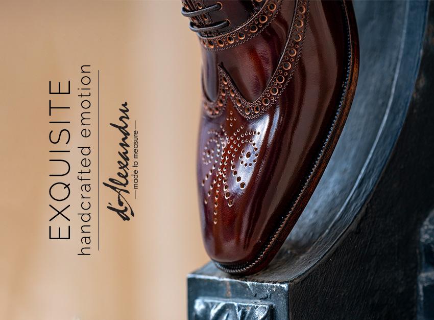 Alege sa porti designul exclusivist al pantofilor desenati cu pasiune de Alexandru